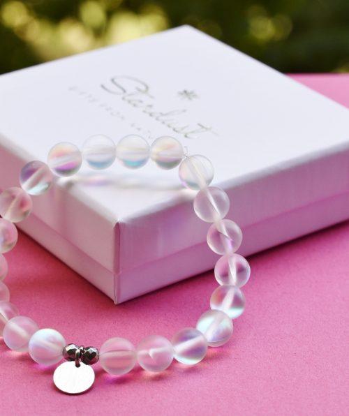 Mermaid glass bracelet girlJPG