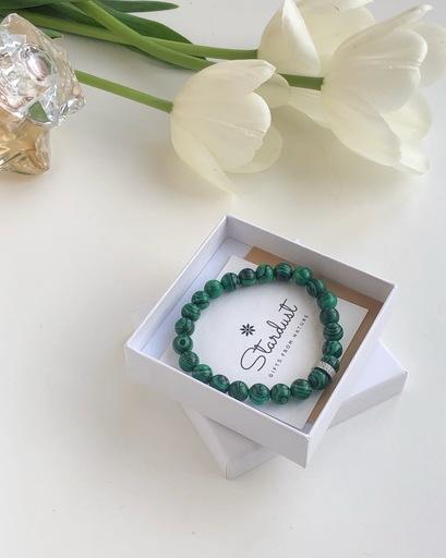 Green Malachite bracelet women
