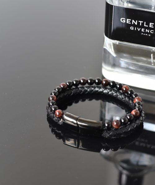 Black magnetic bracelet for himJPG