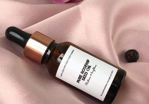 Rose gold facial oil