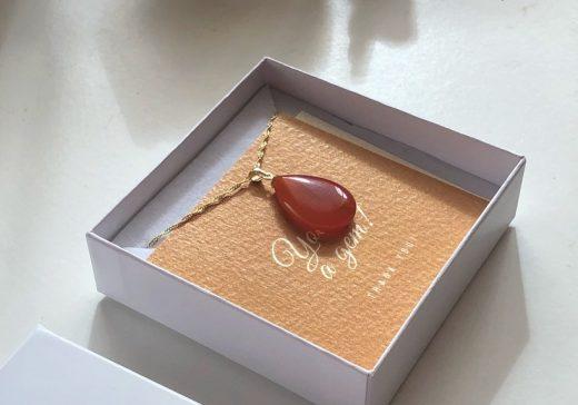 Luxury Carnelian pendant