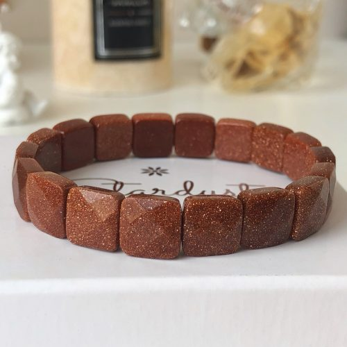 Stardust goldstone bracelet