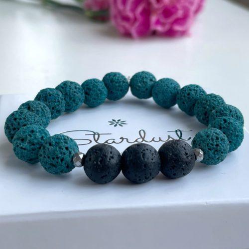 Blue Lava stone bracelet for women