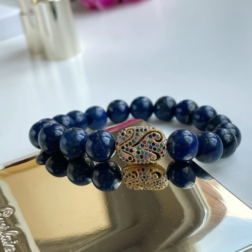 Luxury Lapiz Lazuli bracelet
