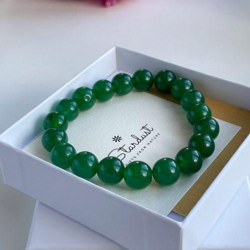 Nephrite beaded bracelet