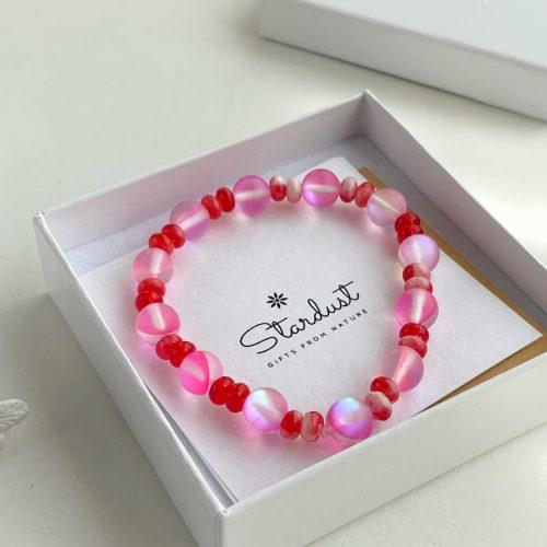Mermaid glass bracelet gift for girl